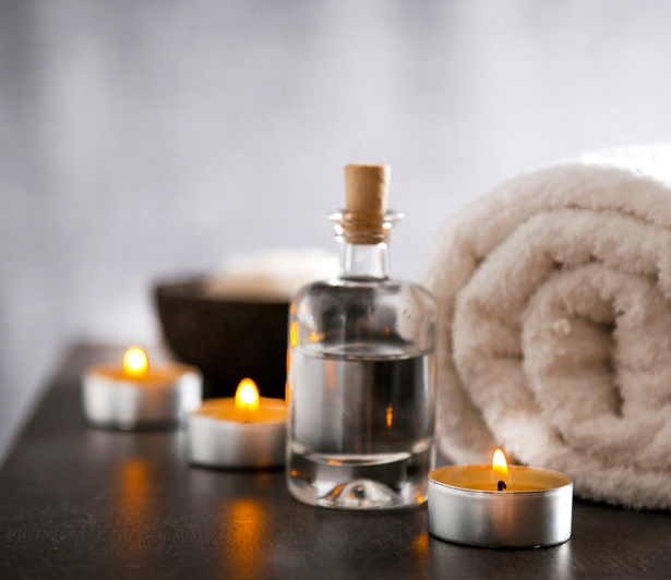 Candle Oil Massage